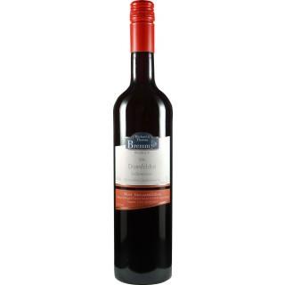 2018 Dornfelder Rotwein Qualitätswein Halbtrocken - Weingut Bremm
