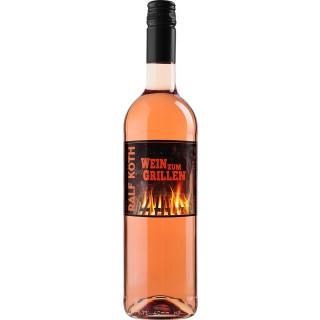 """2020 Merlot Rosé """"Wein zum Grillen"""" trocken - Wein & Secco Köth"""