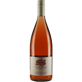 2017 Portugieser Weißherbst QbA lieblich 1L - Weingut Stübinger