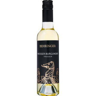 2019 Weißer Burgunder trocken 0,375 L - Weingut Behringer