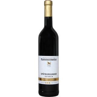 2018 Spätburgunder Rotwein Spätlese lieblich - Winzergenossenschaft Rammersweier