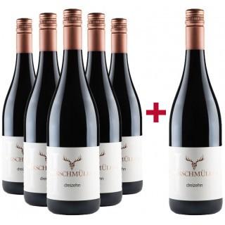 5+1 Rotweincuvée DREIZEHN - Wein- und Sektgut Hirschmüller