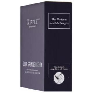 2018 Bag in Box Über Grenzen gehen 3,0 L Weinschlauch - Weingut Friedrich Kiefer
