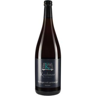 2016 Trollinger mit Lemberger trocken 1L - Weingut Krohmer