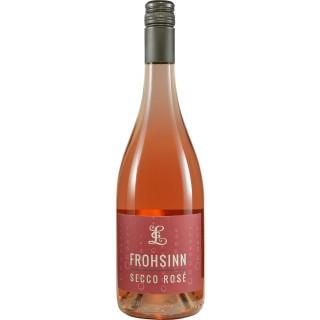 """2018 Secco Rosé """"Frohsinn"""" feinherb - Weingut Goswin Lambrich"""