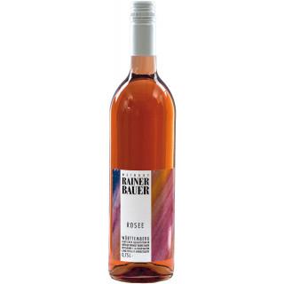 2019 Rosé halbtrocken - Weingut Rainer Bauer