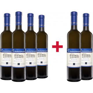 4+2 Grüner Veltliner Auslese 0,5L süß Paket - Weingut Alois Zimmermann