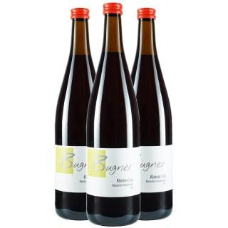 3x Kleiner Leo - Deutscher Traubensaft rot - Weingut Bugner