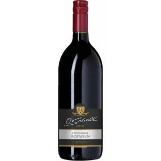 Rotwein Hausmarke lieblich 1,0 L - Weingut O.Schell