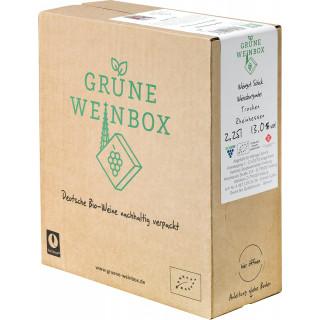 2016 Weißburgunder trocken 2,25 L GRÜNE WEINBOX Weinschlauch BIO - Weingut Schick (Rheinhessen)