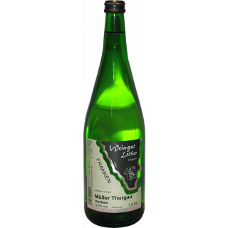 2019 Wipfelder Zehntgraf Müller-Thurgau trocken 1,0 L - Weingut Lother