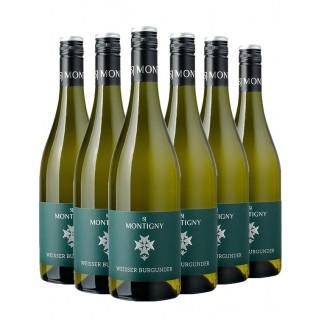 Paket Weißer Burgunder trocken - Weingut S. J. Montigny
