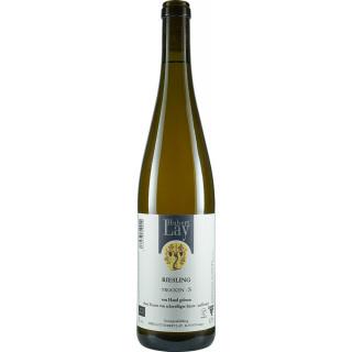 2019 Riesling S Naturwein schwefelfrei unfiltriert trocken Bio - Ökologisches Weingut Hubert Lay