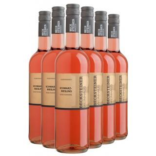 6er Paket Schwarzriesling Rosé  - Becksteiner Winzer eG