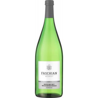 2019 Riesling mit Weissburgunder QbA feinherb 1L - Weingut Faschian