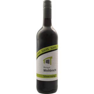 """2018 """"suavis"""" Schwabbacher Himmelreich Schwarzriesling halbtrocken - Weingut Weihbrecht"""