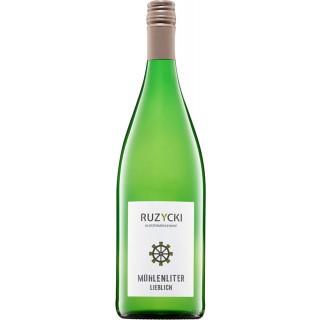 2019 Mühlen Liter lieblich 1,0 L - Weingut Klostermühlenhof - Familie Ruzycki