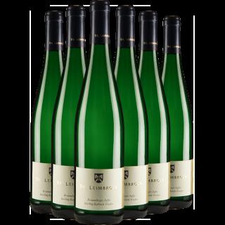 Paket Brauneberger Juffer Riesling Kabinett Trocken - Weingut Dr. Leimbrock