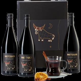 Weihnachts-Bulle Lieblich (3x1L) - Weingut Metzger
