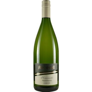Weißwein Hausmarke lieblich 1L - Weingut Max Schell