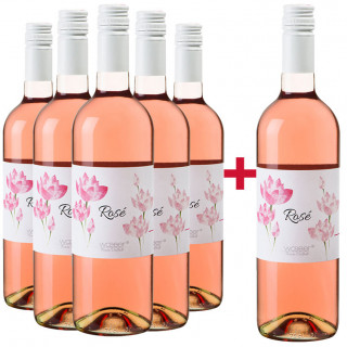 5+1 Paket Rosé Zweigelt trocken - Weingut Wöber
