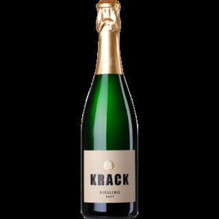 2017 Krack Riesling Brut - Sekthaus Krack