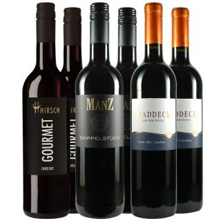 Rotwein Cuvée Probierpaket