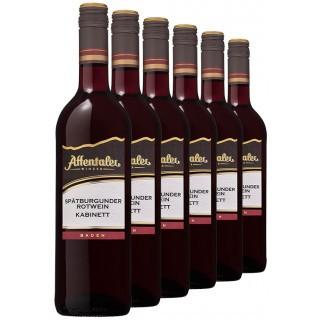"""2018 """"Winzer-Edition"""" Spätburgunder Kabinett feinherb (6 Flaschen) - Affentaler Winzer"""