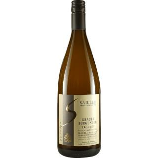2019 Grauer Burgunder trocken 1,0 L - Weingut-Destillerie Harald Sailler