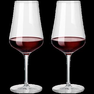 2er-Set Zwiesel Kristallglas Fine Rotwein-Glas