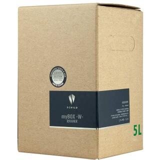 2020 Bag-in-Box (BiB) RIVANER trocken 5,0 L - Weinhaus Schild & Sohn