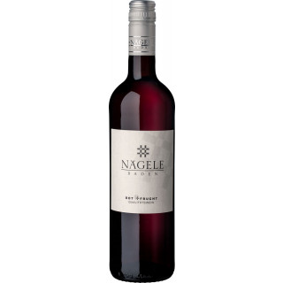 "2019 ""Rot+Frucht"" Rotweincuvée halbtrocken - Weingut Nägele"