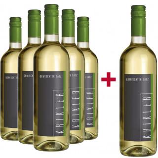 5+1 Paket Gemischter Satz - Weingut Krikler