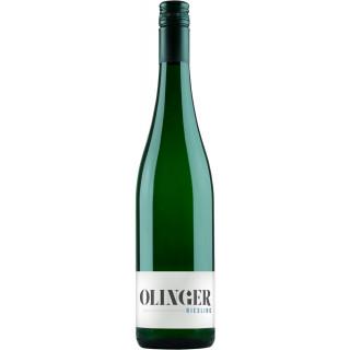 2019 Steingut Riesling trocken - Olingerwein