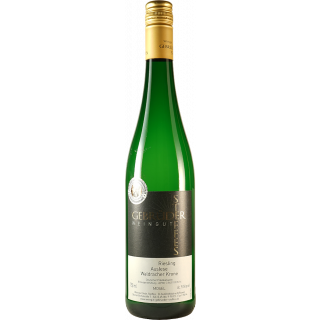 2015 Waldracher Krone Riesling Auslese edelsüß - Weingut Gebrüder Steffes