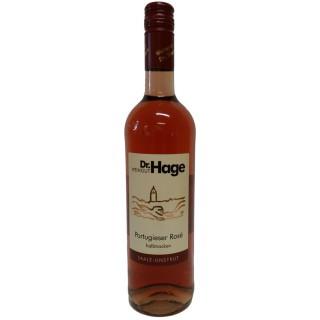 2019 Portugieser Rosé halbtrocken - Weingut Dr. Hage