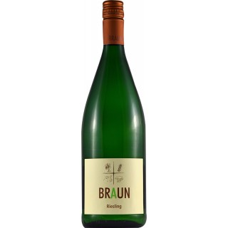 2019 Riesling trocken 1,0 L - Weingut Armin Braun