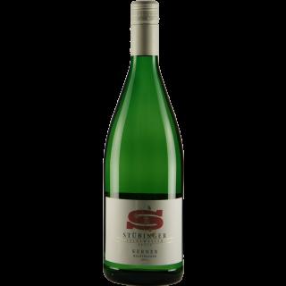 2018 Kerner QbA halbtrocken 1L - Weingut Stübinger