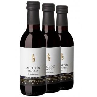 3x Acolon QbA trocken 0,25L (3 Flaschen) - Felsengartenkellerei Besigheim