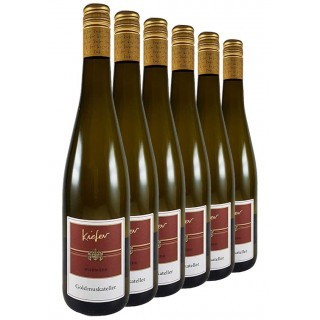 5+1 Aktion Wormser Goldmuskateller Paket - Weingut Jonas Kiefer