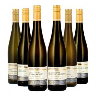 Probierpaket Weißwein Halbtrocken/Feinherb - Weingut Mees