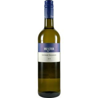 2018 Grüner Silvaner QbA trocken BIO - Weingut Huster