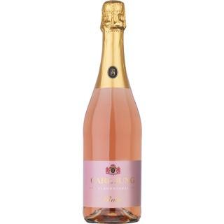 Mousseux Rosé Alkoholfrei (6 Flaschen) - Carl Jung