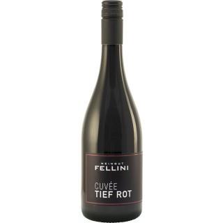 """2019 Cuvée """"Tief Rot"""" feinherb - Weingut Fellini"""