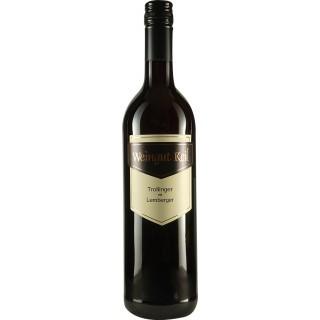 2018 Cuvée Rot Trollinger mit Lemberger halbtrocken - Weingut Keil