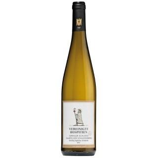 "2018 Serriger ""Schloss Saarfels"" -S- Riesling Qualitätswein -VDP.Ortswein feinherb - Weingut Vereinigte Hospitien"