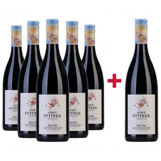 5+1 Paket Pinot Noir Göttweiger Berg trocken - Weingut Stift Göttweig