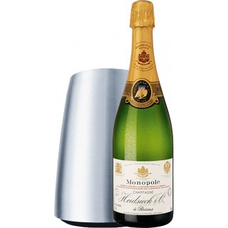 Prickelndes Champagner-Edelstahl-Kühler-Paket