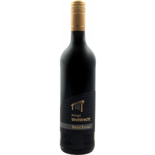 2018 Merlot S trocken - Weingut Weihbrecht