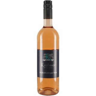 2019 Muskattrollinger Rosé - Weingut Krohmer
